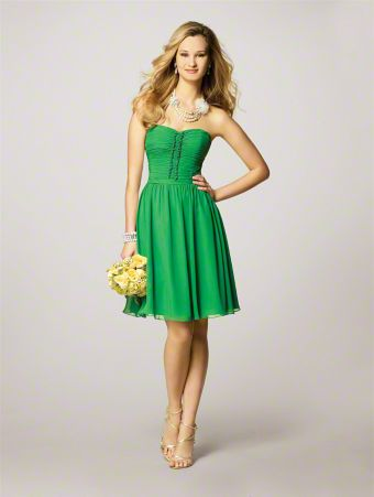 Style 7143 from Bridesmaids - Front