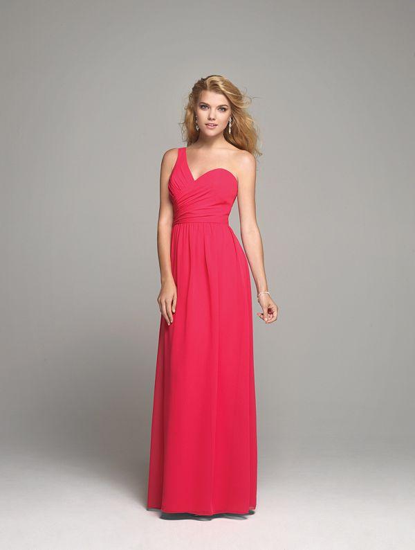 Sweetheart Chiffon Bridesmaid Dress