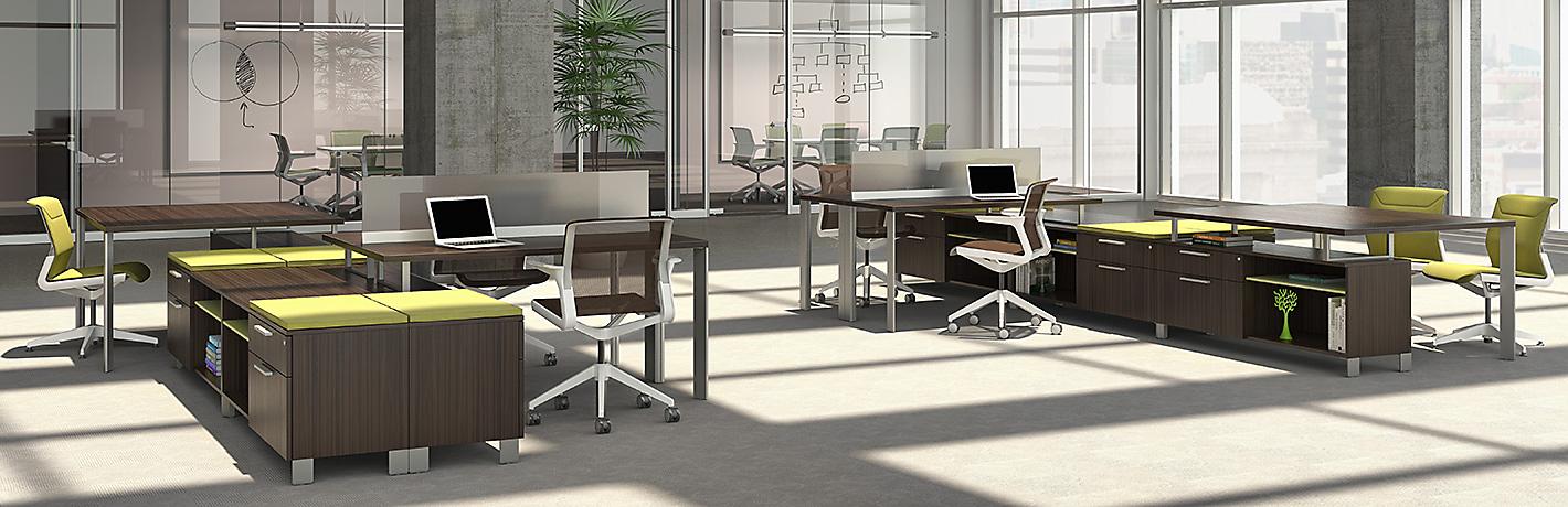 Open Office Space Planning : Open plan