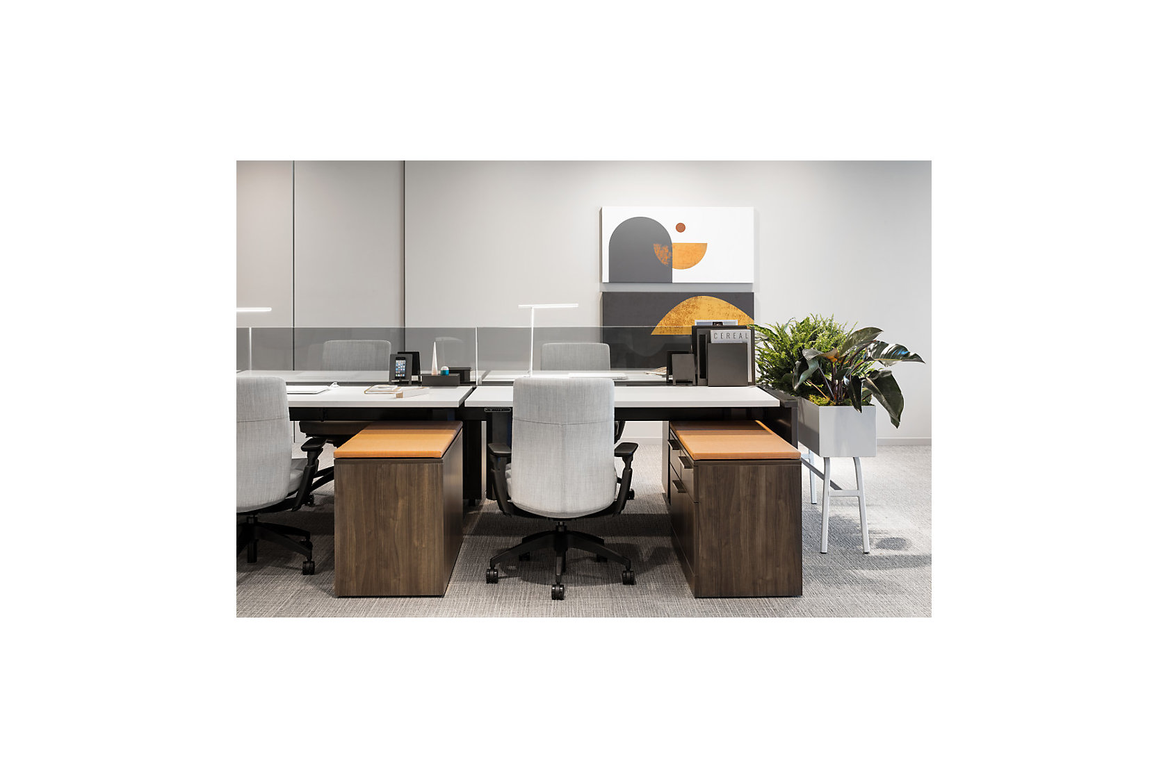 Evo Upholstered Workstation