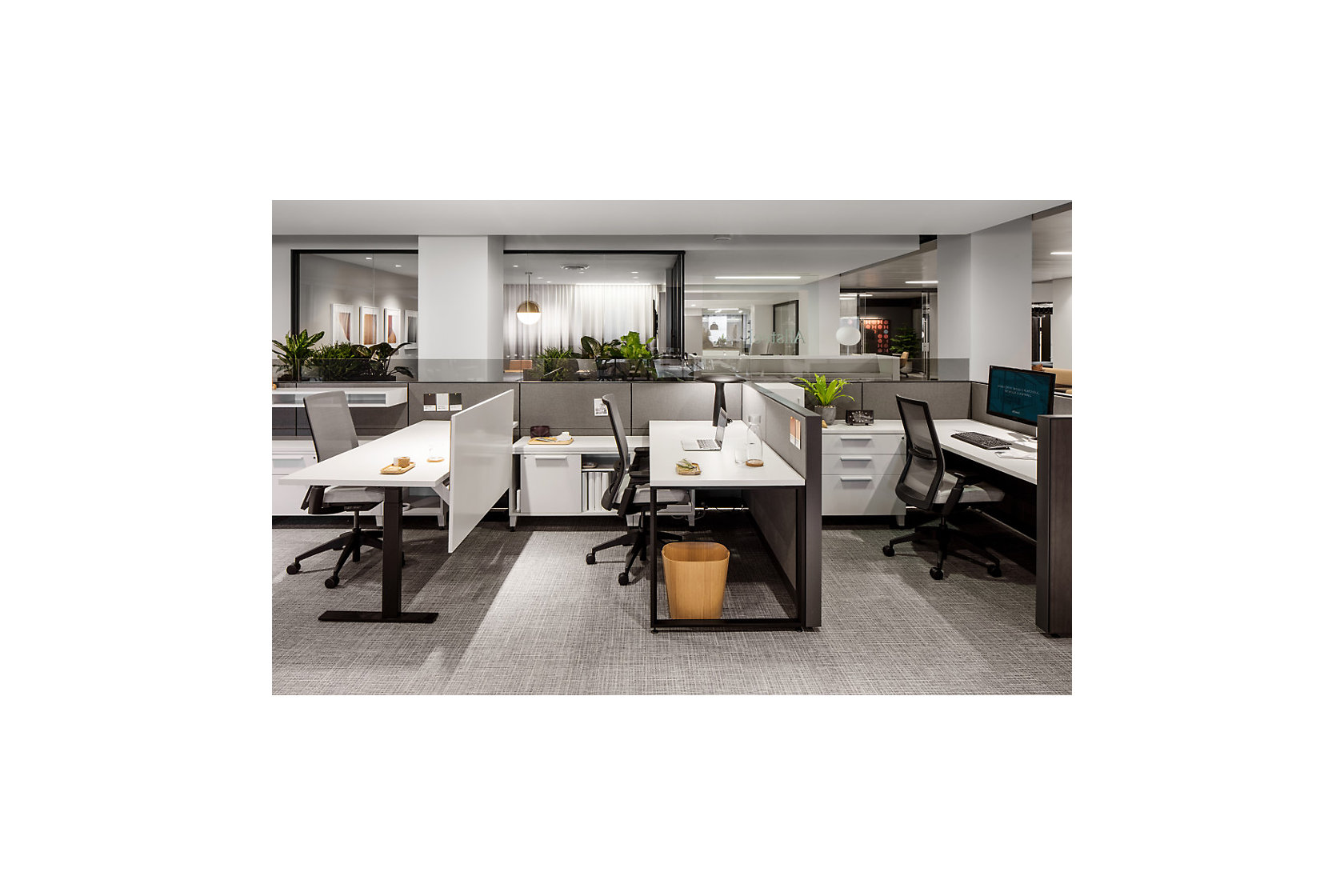 Evo Workstations NeoCon