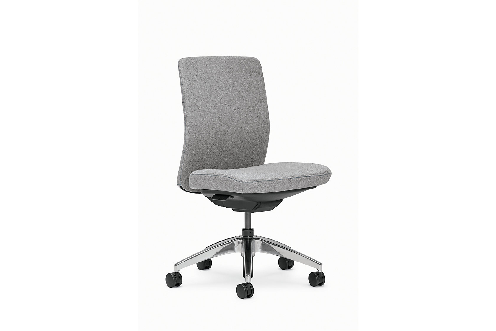 Evo Product Upholstered Conference Armless