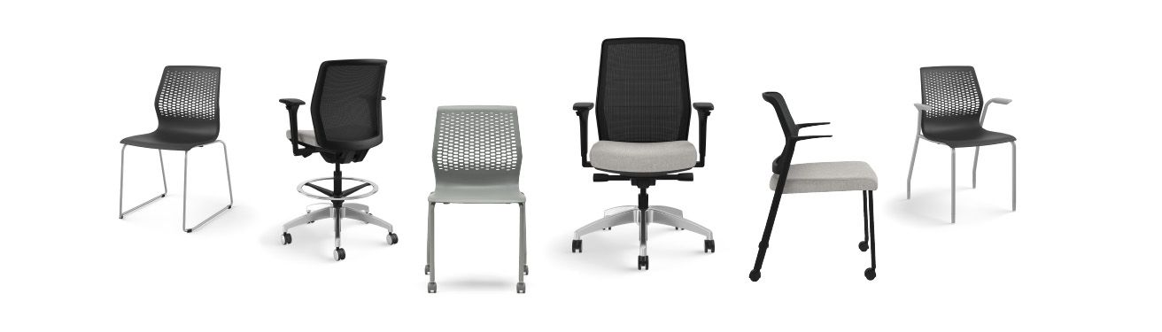 Allsteel's seating collection: Lyric