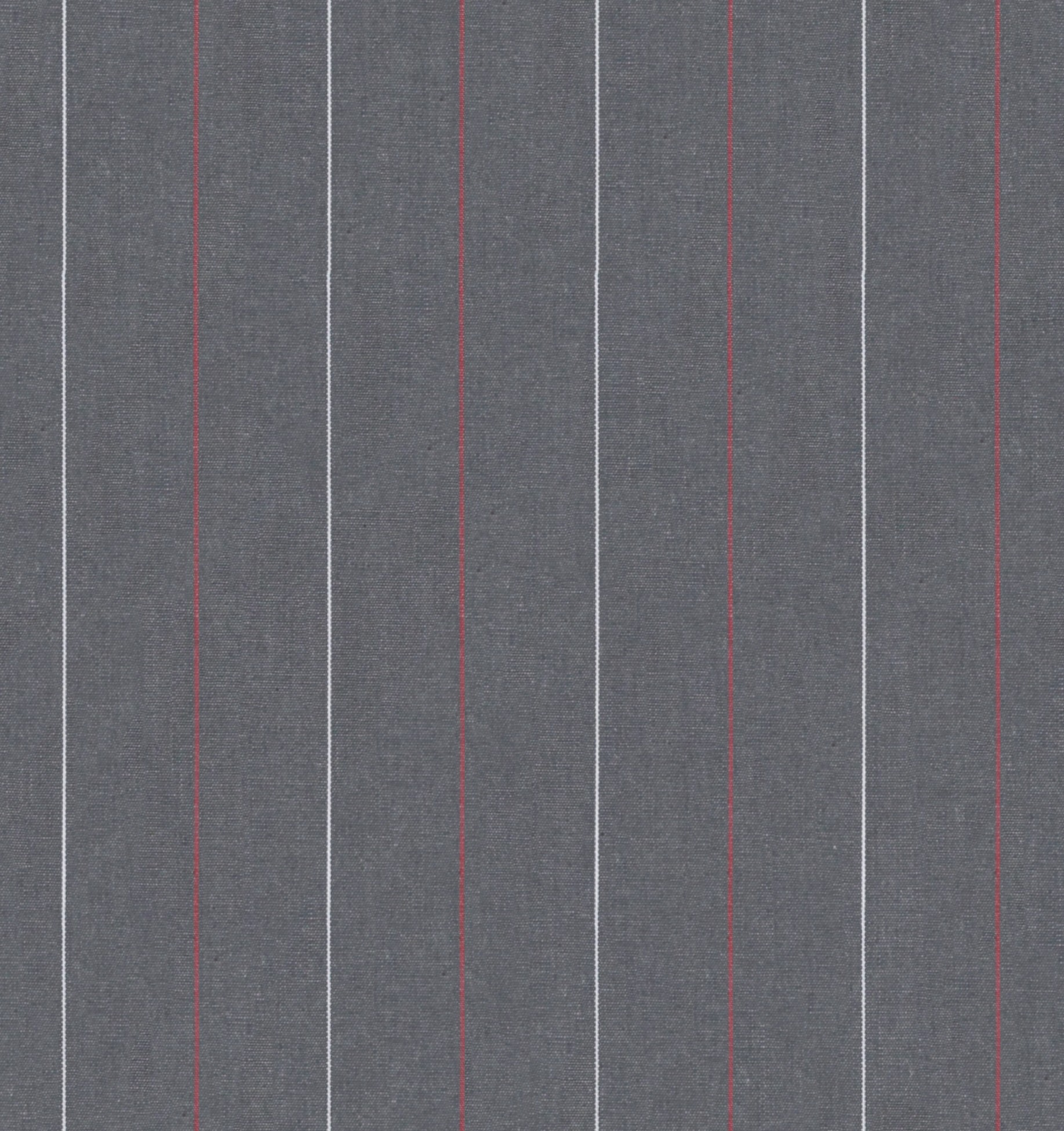 Grey w/ Red/White Stripes