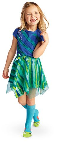 Ocean Waves Outfit for Girls