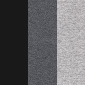 Jockey® Women Sale: Black /Heather Grey Jockey 3 Pack Elance French Cut Queen Size - 1445