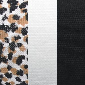 Jockey: Animal Print Assortment Jockey 3 Pack Elance French Cut Queen Size - 1485