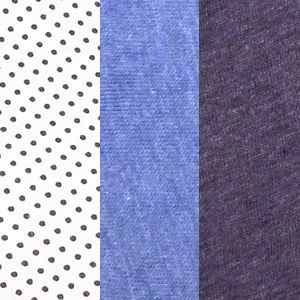 Jockey: Blue Dot Assortment Jockey 3 Pack Elance French Cut Queen Size - 1485