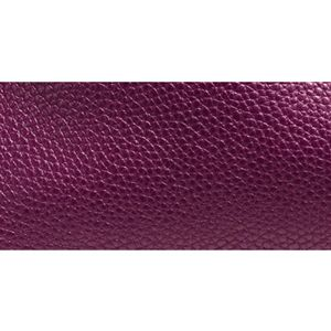 Designer Shoulder Bags: Li/Plum COACH PEBBLE LEATHER TURNLOCK EDIE SHOULDER BAG
