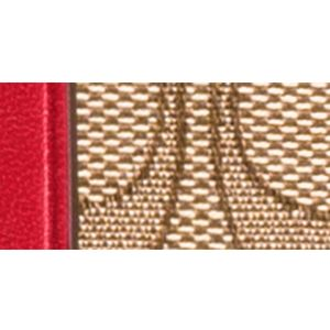 Handbags and Wallets: Sv/Khaki/True Red COACH SIGNATURE JACQUARD SOPHIA SMALL TOTE