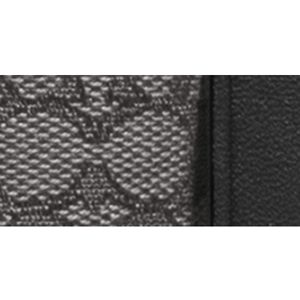 Designer Handbags: Sv/Black Smoke/Black COACH SIGNATURE FABRIC NORTH/SOUTH SWINGPACK
