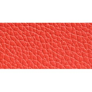 Coach: Li/Watermelon COACH REFINED GRAIN LEATHER L-ZIP WALLET