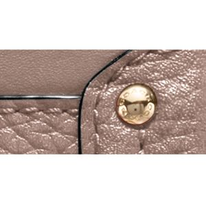 Designer Cross Body Bags: Li/Stone COACH COLORBLOCK LEATHER SWAGGER WRISTLET CROSSBODY