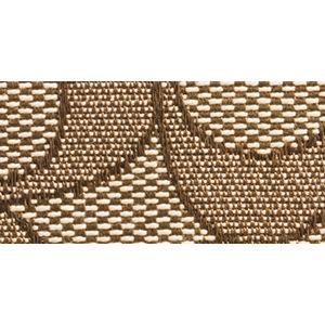 Designer Small Accessories: Li/Khaki/Brown COACH SIGNATURE JACQUARD SLIM ACCORDION ZIP WALLET
