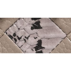 Handbags and Wallets: Dk/Fog Multi COACH Patchwork Exotic Embossed Leather Swagger Wristlet