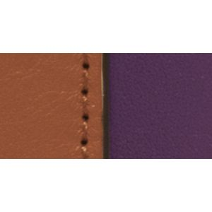 Designer Small Accessories: Sv/Eggplant Multi COACH COLORBLOCK LEATHER SNAP WRISTLET