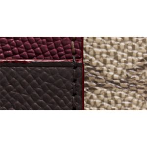 Handbags and Wallets: Li/Khaki/Mahogany COACH Colorblock Signature Coated Canvas Corner Zip Wristlet
