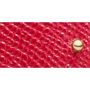Designer Small Accessories: Li/True Red COACH EDGE STUDS SMALL WRISTLET