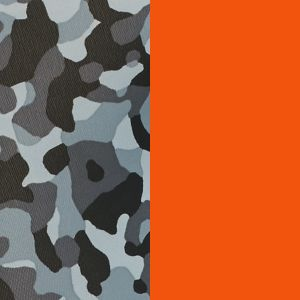 Men's Boxer Briefs: Ultra Orange/Gray Camo Jockey Sport Microfiber Performance Boxer Briefs - 2 Pack
