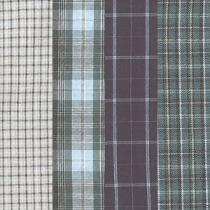 Mens Boxers: Tartan Assorted Jockey Set of 4 Full Cut Boxers