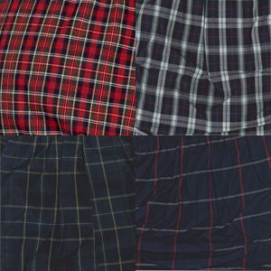 Mens Boxers: Tartan Assortment Jockey 4-Pack Tapered Woven Boxers