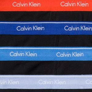 Calvin Klein Men: Black, Maya Blue, Star Ferry Blue, Cobalt Calvin Klein Classic Briefs - 4 Pack