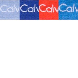 Calvin Klein Men: White/Maya Blue/Star Ferry/Cider/Amplified Blue Calvin Klein Classic Briefs - 4 Pack