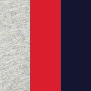 Underwear & Socks: Multipacks: Andover Heather/Red/Blue Polo Ralph Lauren Stretch Comfort Briefs 3 - Pack