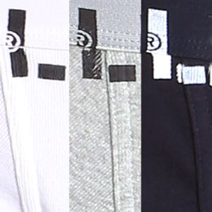 Levi's Men Sale: White/Black/Heather Gray Levi's Cotton Trunks - 3 Pack
