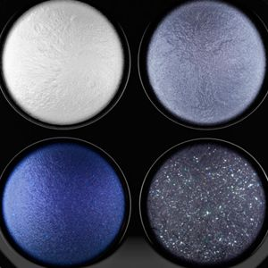 Powder Eyeshadow: A Sprinkle /  Of Blues MAC Mineralize Eye Shadow x4