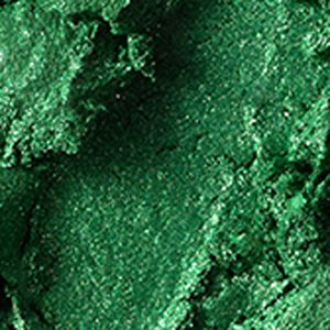 Powder Eyeshadow: Emerald    Power MAC Electric Cool Shadow