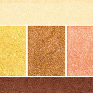 Powder Eyeshadow: Canary Chic Lancôme Color Design 5 Pan Eyeshadow Palette