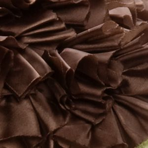 Home Goods Pillows: Brown Spencer RUFFLES PILLOW