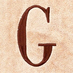 Housewarming Gift Ideas: Wedding Gift Picks: G Avanti MONOGRAM TOWELS S