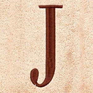 Housewarming Gift Ideas: Gifts Under $50: J Avanti MONOGRAM TOWELS S