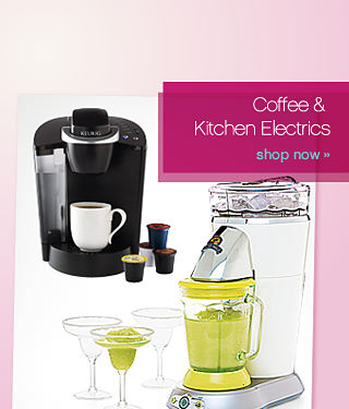 Be welcoming Coffee & Kitchen Electrics - shop now