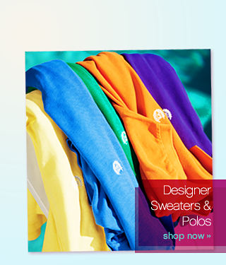 Be stylish Designer Sweaters & polos - shop now