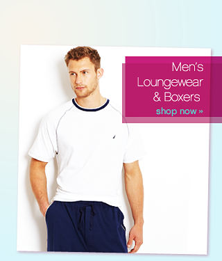 Be comfortable Men's Loungewear & Boxers - shop now