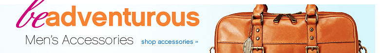 Be adventurous Men's Accessories - shop accessories