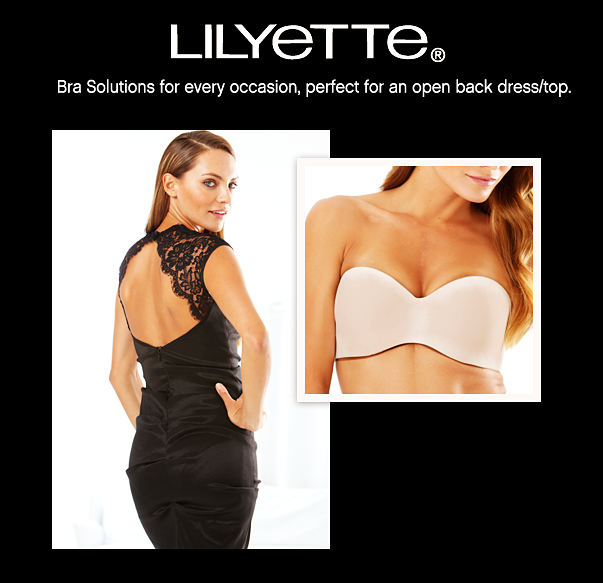 Bra Solutions for every occasion,perfect for an open back dress/top.