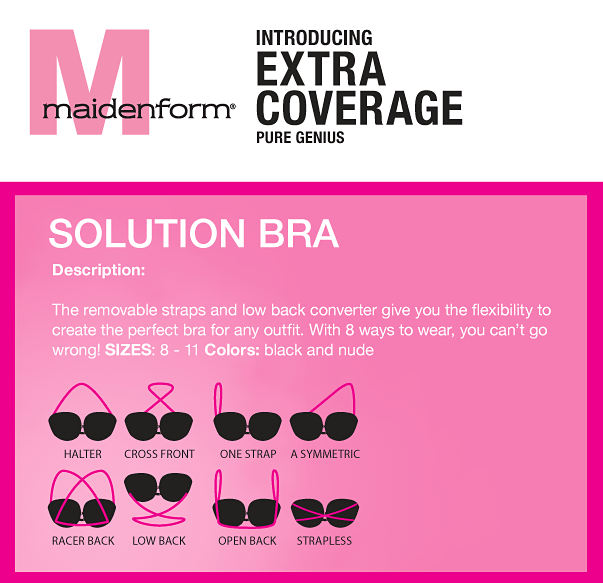Maidenform Solution Bra.