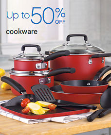 Up to 50% Off cookware