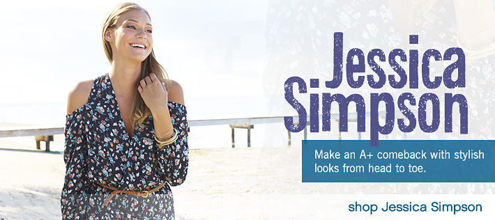 Jessica Simpson: Make an A+ comeback with stylish looks from head to toe - shop Jessica Simpson