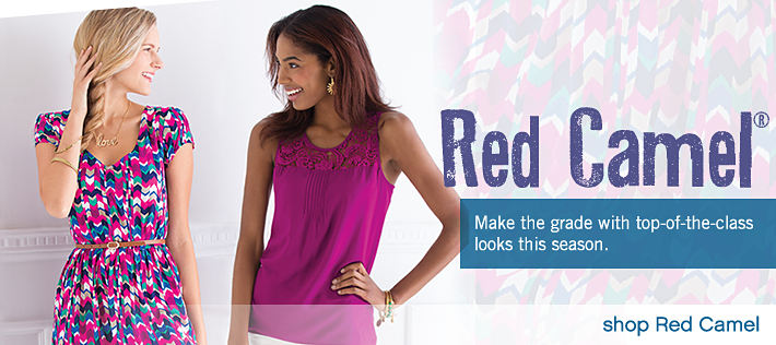 Red Camel®: Make the grade with top-of-the-class looks this season - shop Red Camel®