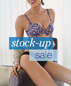 stock-up sale