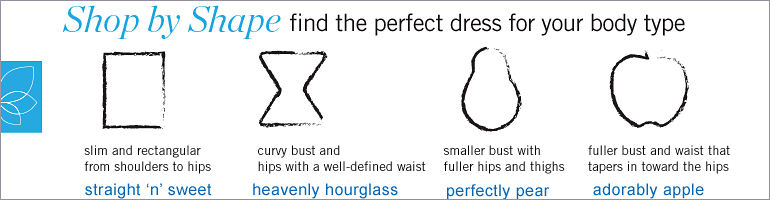 Shop by Shape: Find the perfect dress for your body type