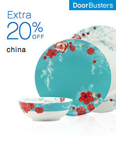 Door Busters Extra 20% off China