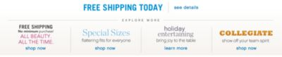 Belk Southern Style Footer