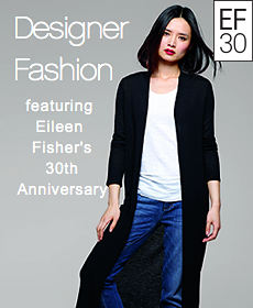 Designer Fashion | featuring Eileen Fisher's 30th Anniversary
