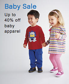 Baby Sale | Up to 40% off baby apparel